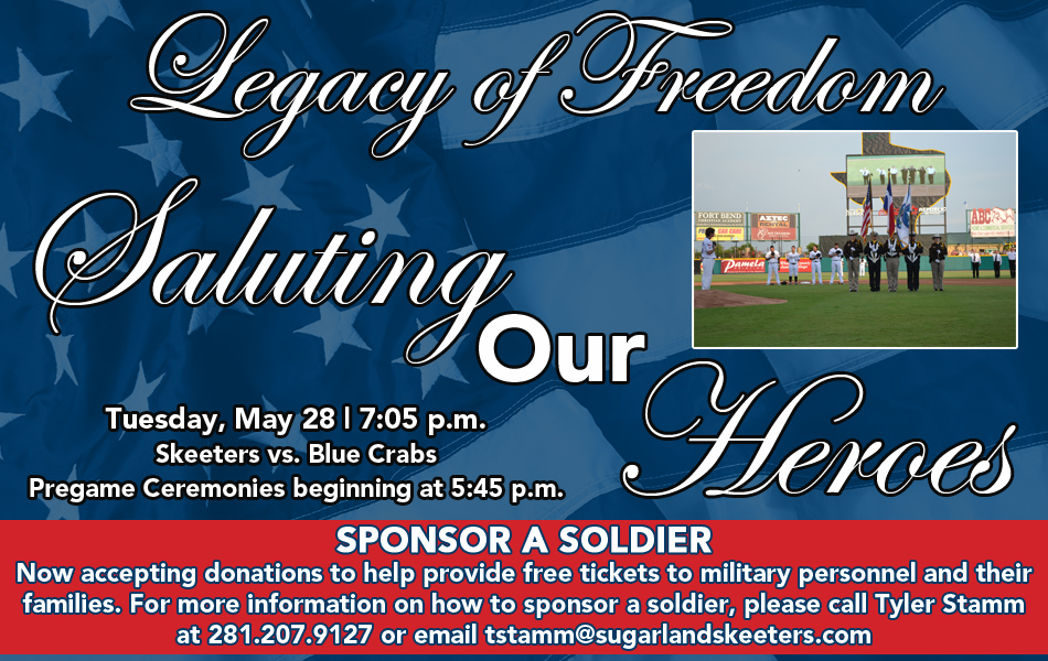 Saluting Our Heroes Night